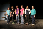 "The Junior Acting student line-up. - ""YOUTH SHOWCASE"""