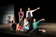 "The Junior Acting students strike a pose. - ""YOUTH SHOWCASE"""
