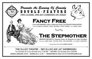 FANCY FREE and THE STEPMOTHER (2009) - Poster Design
