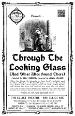 Through the Looking Glass (And What Alice Found There) (2011) - Poster Design