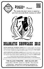 Dramatic Showcase 2012 (2012) - Poster Design