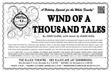 Wind of a Thousand Tales (2012) - Poster Design