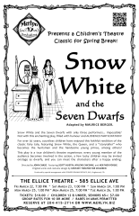 Snow White and the Seven Dwarfs (2013) - Poster Design