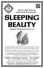 Sleeping Beauty (2015) - Poster Design