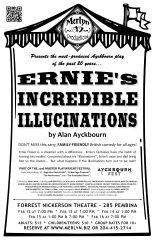 Ernie's Incredible Illucinations (2016) - Poster Design