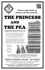 The Princess and the Pea (2017) - Poster Design