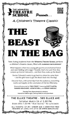 Poster Design - The Beast In The Bag (2012)