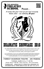 WTS Dramatic Showcase 2016 (2016) - Poster Design